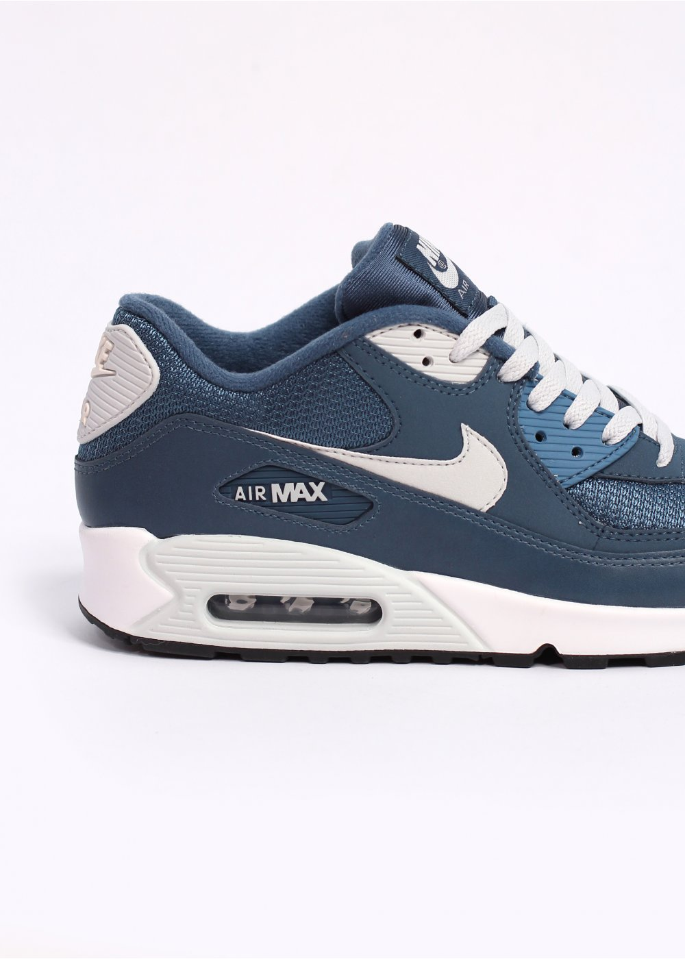 nike air max 90 essential trainers new slate sail. Black Bedroom Furniture Sets. Home Design Ideas