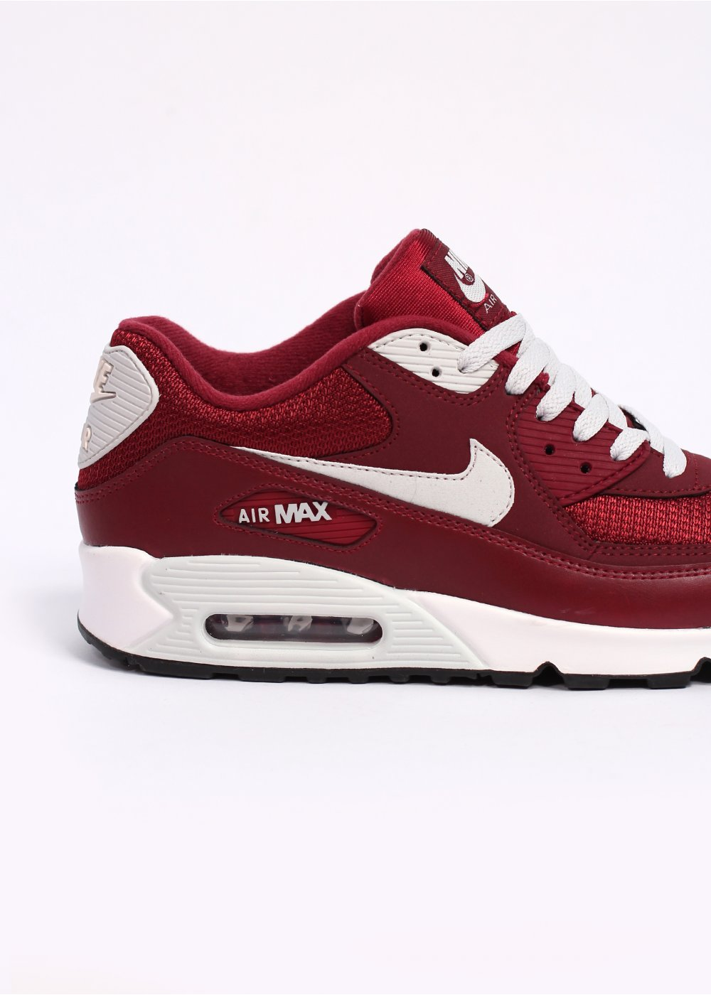 nike air max 90 essential trainers team red sail. Black Bedroom Furniture Sets. Home Design Ideas