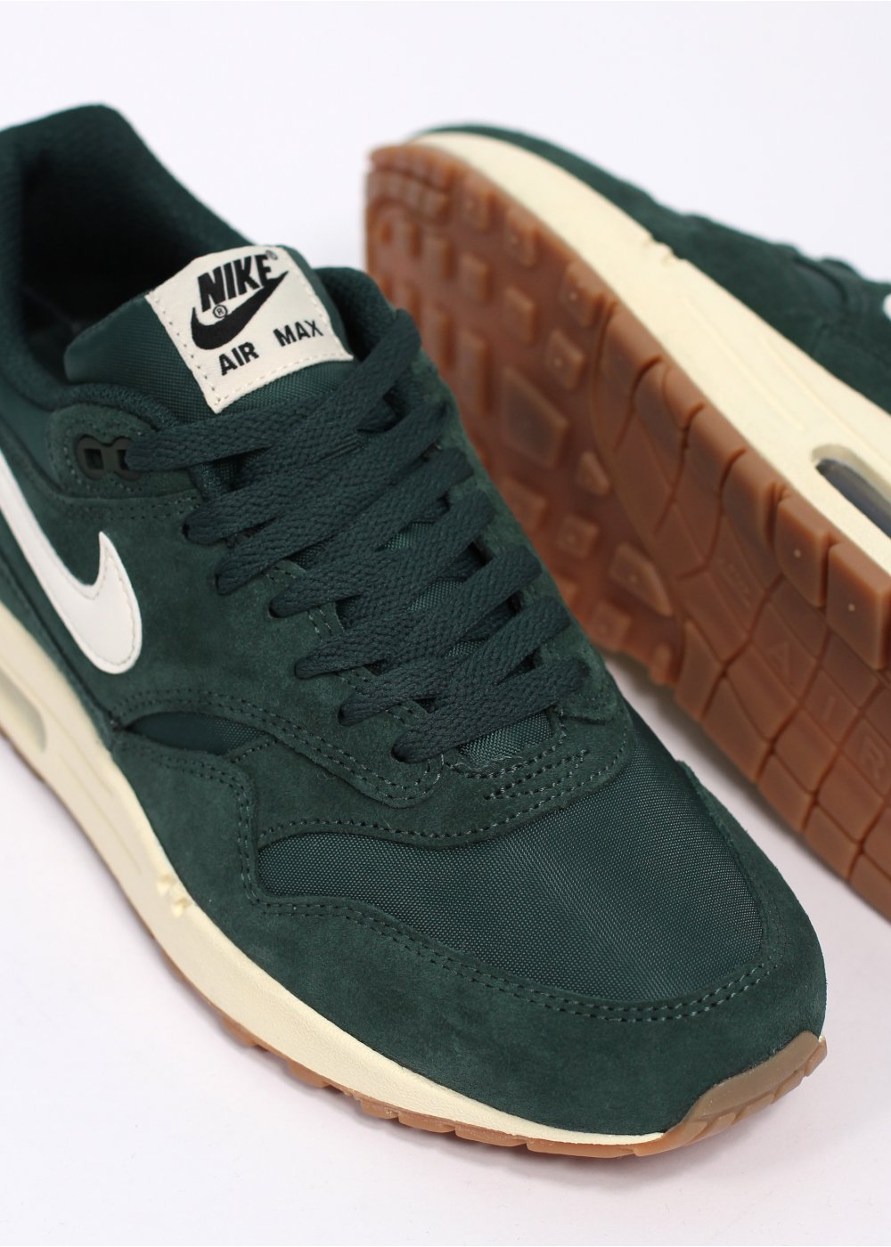 Air Max 1 Green Suede