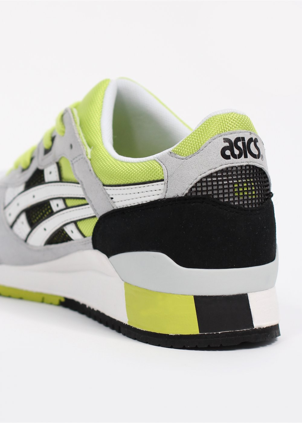 asics gel lyte iii trainers white. Black Bedroom Furniture Sets. Home Design Ideas