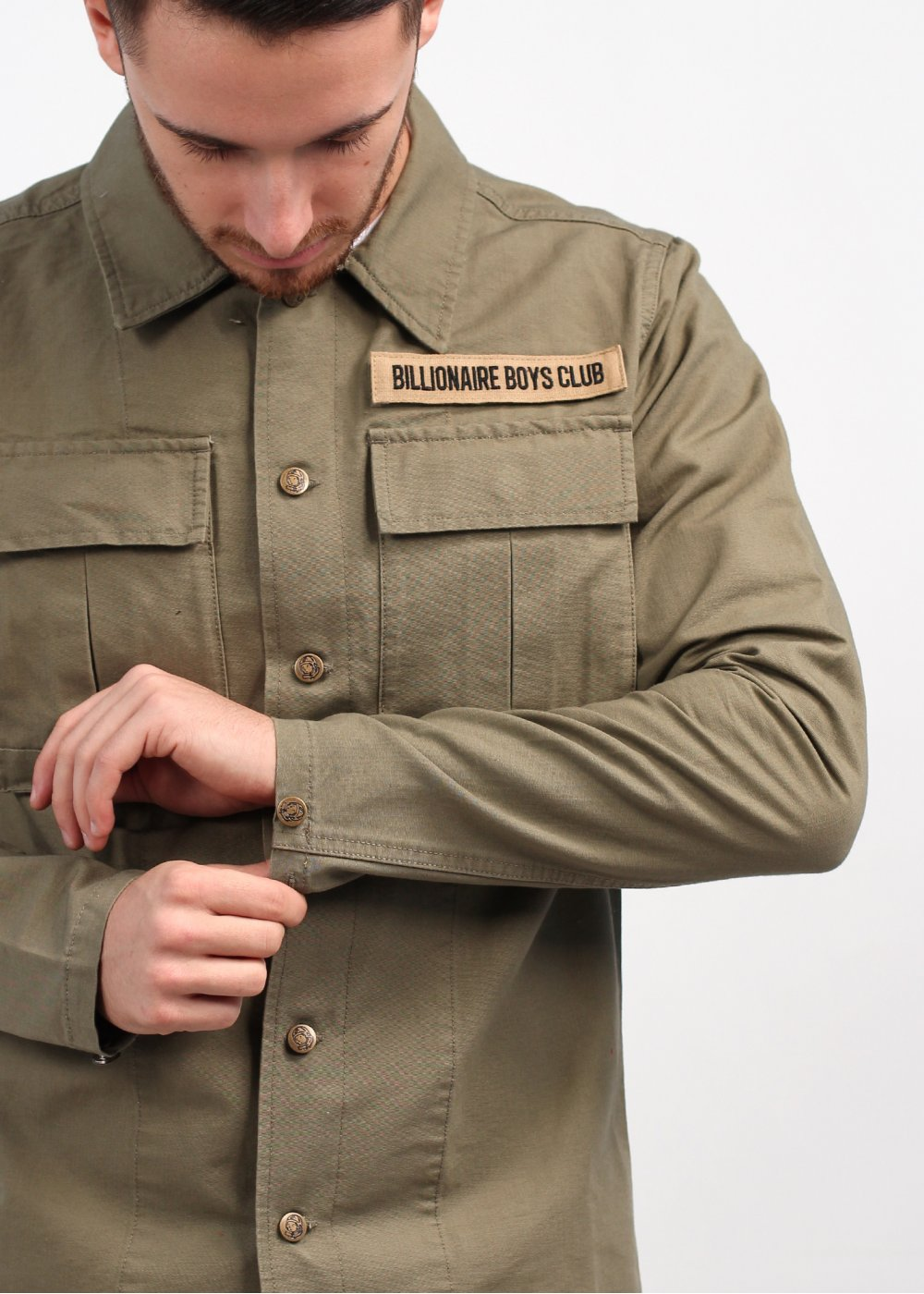 Billionaire Boys Club Captain Jacket Dusky Green