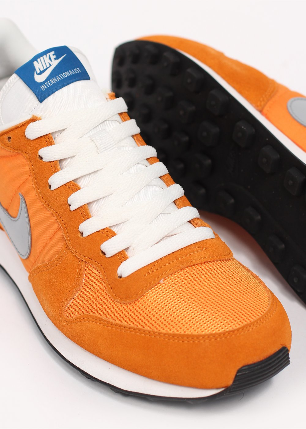 Nike Internationalist Trainers Laser Orange