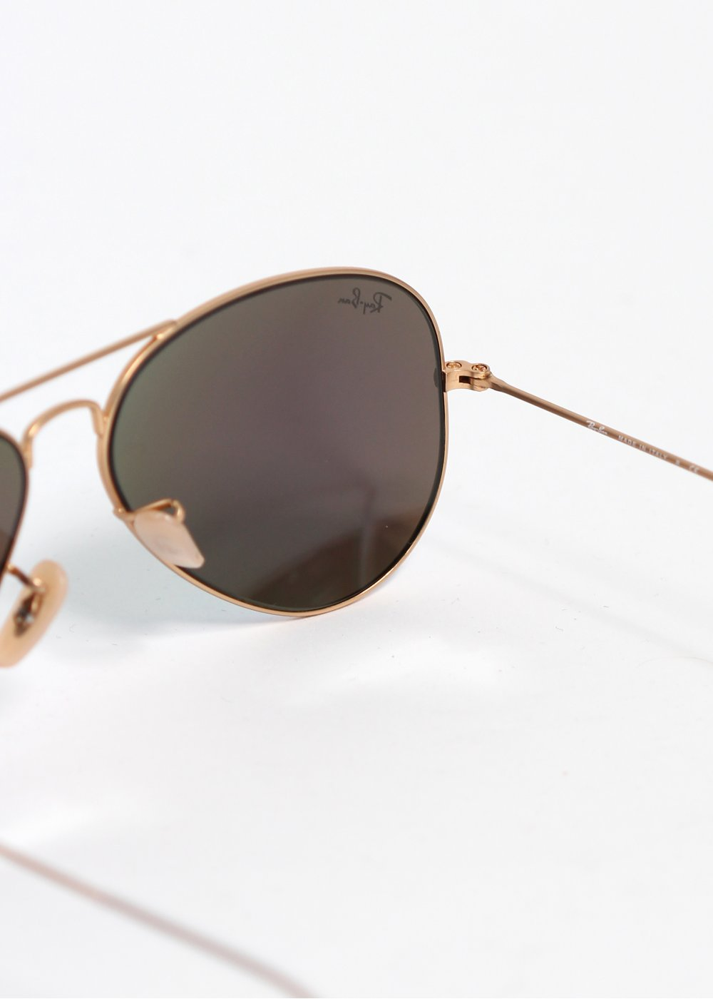 ray ban aviator sunglasses gold green. Black Bedroom Furniture Sets. Home Design Ideas