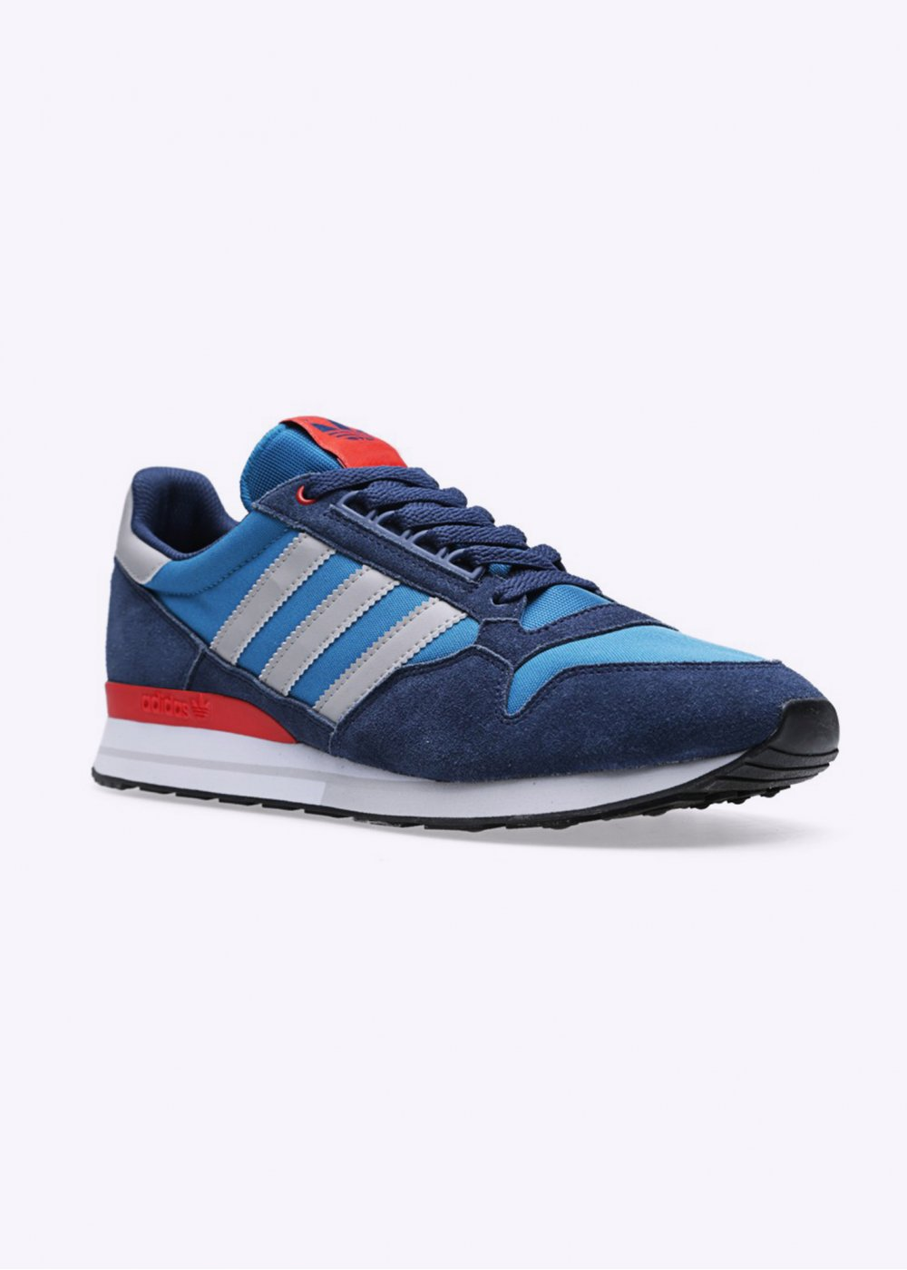 adidas originals zx 500 og trainers hero blue solid grey. Black Bedroom Furniture Sets. Home Design Ideas
