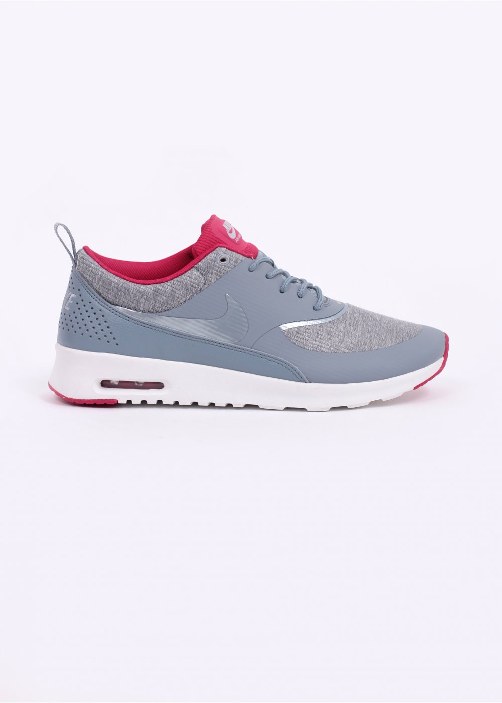 nike air max thea trainers grey pink. Black Bedroom Furniture Sets. Home Design Ideas