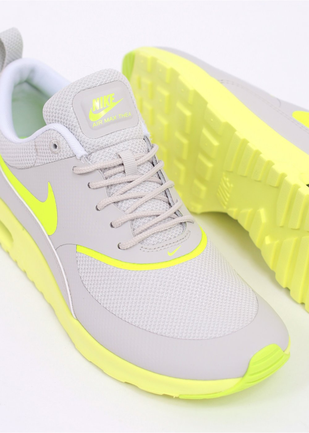 Nike Grey Air Max Thea Trainers Nike Air Max Thea Trainers
