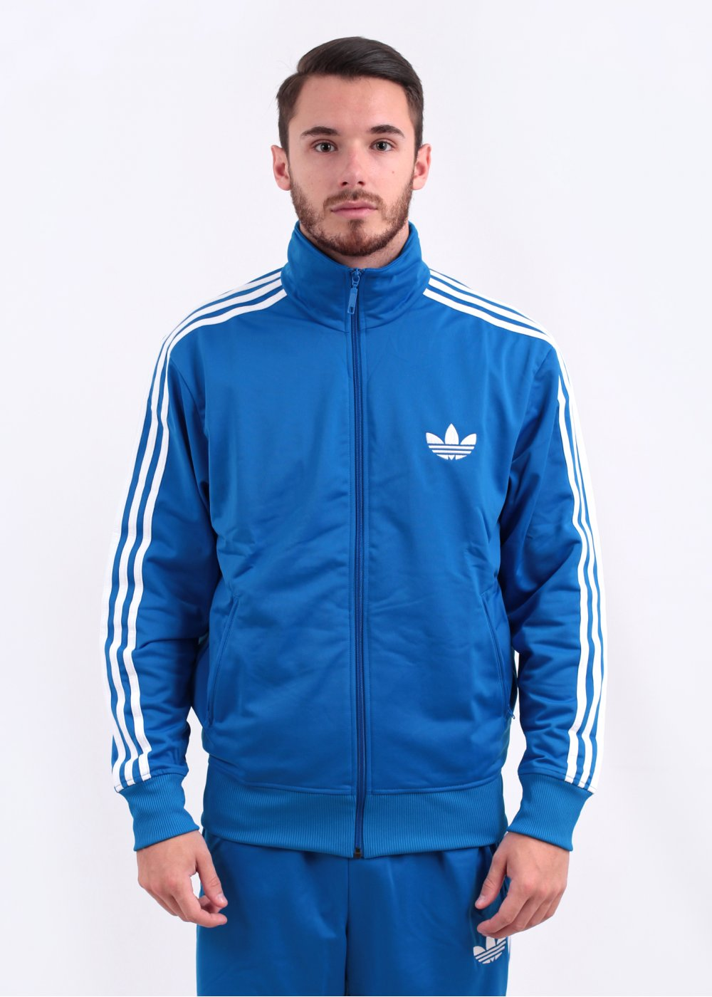 adidas originals adi firebird track top bluebird. Black Bedroom Furniture Sets. Home Design Ideas