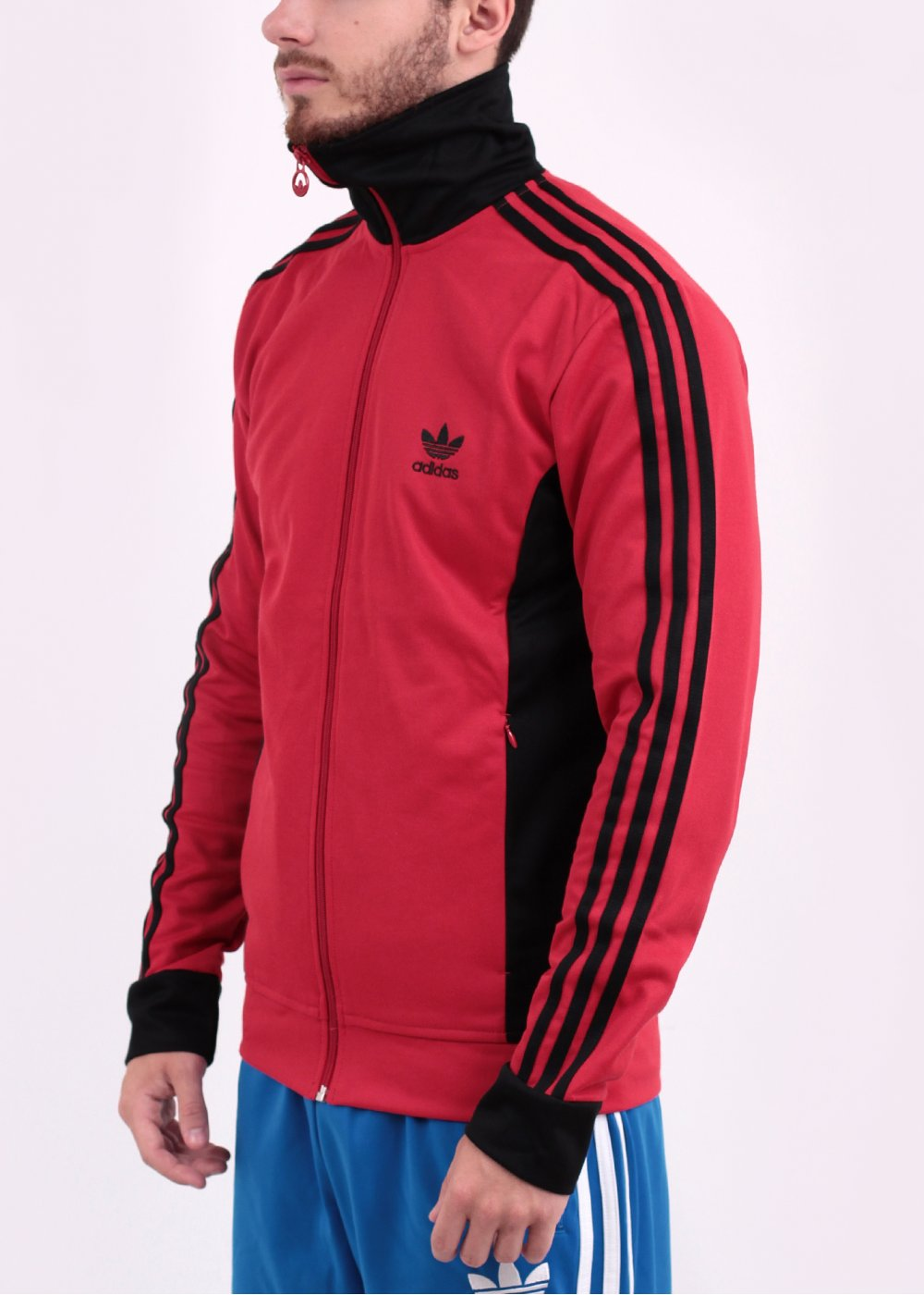 Adidas Originals Europa Track Top Red