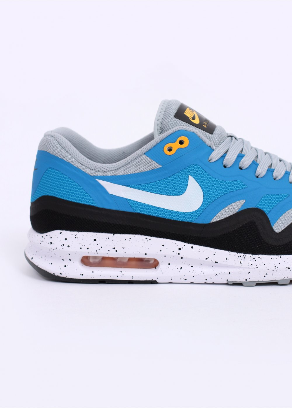 nike air max lunar 1 trainers silver wing white blue. Black Bedroom Furniture Sets. Home Design Ideas