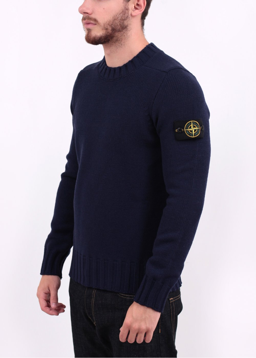 Mens Chunky Knit Sweater