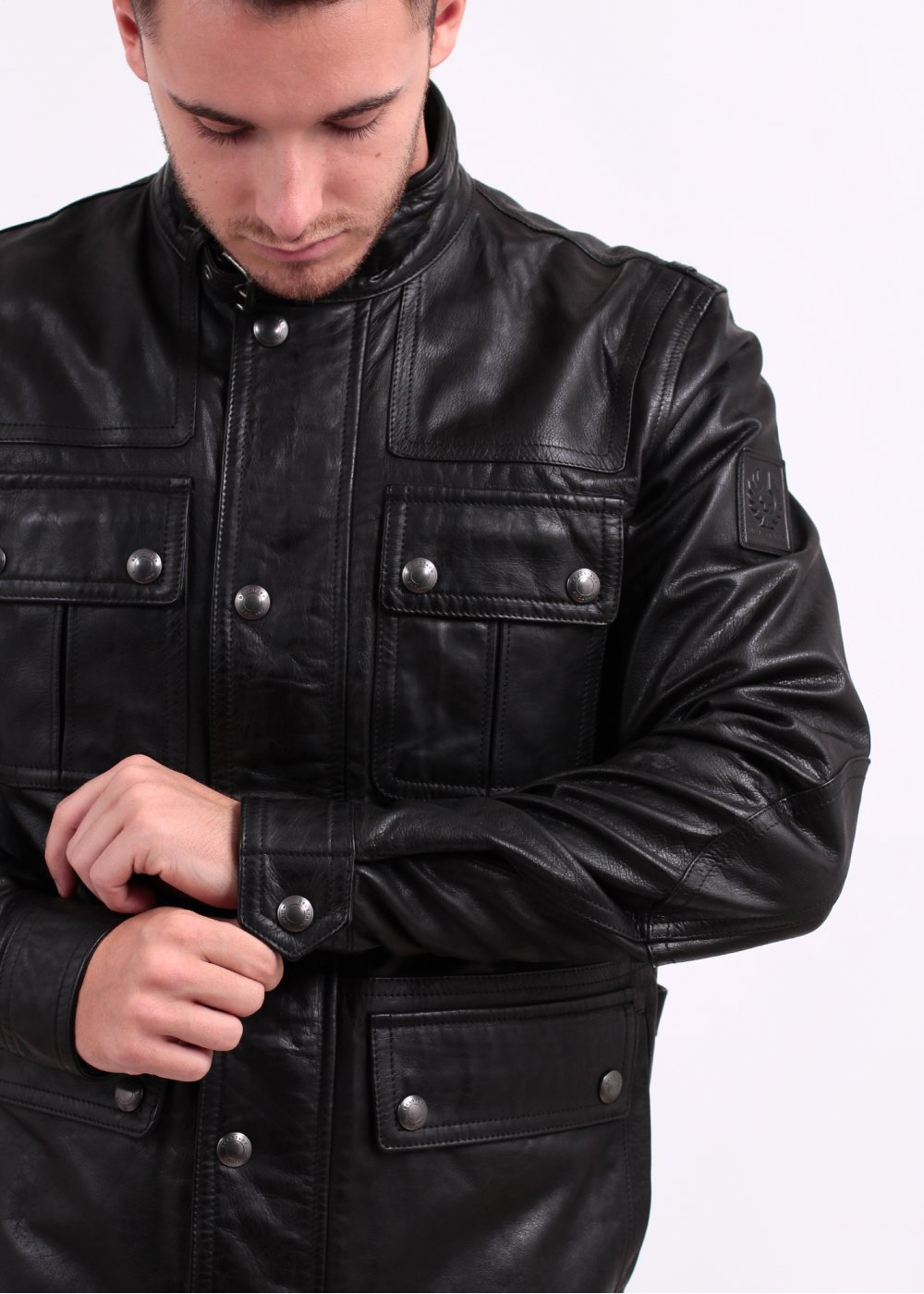 Black friday leather jacket sale – Modern fashion jacket photo blog