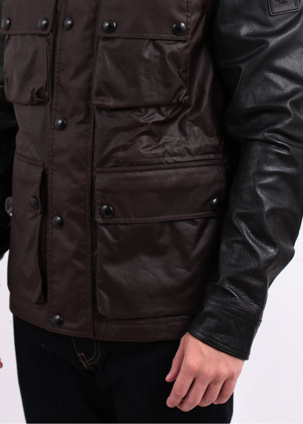 how to fix faded leather jacket