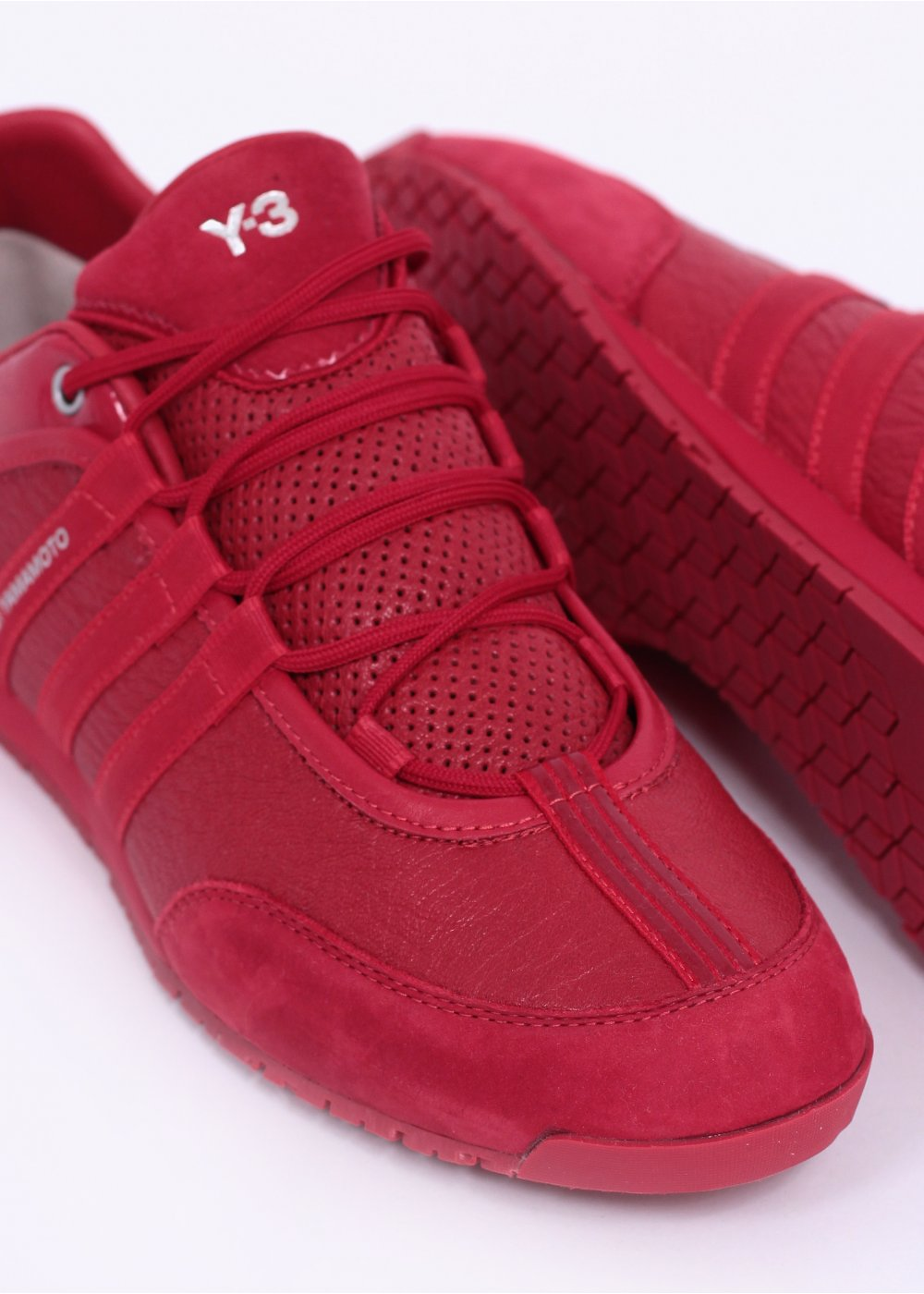 Adidas Y3 Boxing Trainers Red