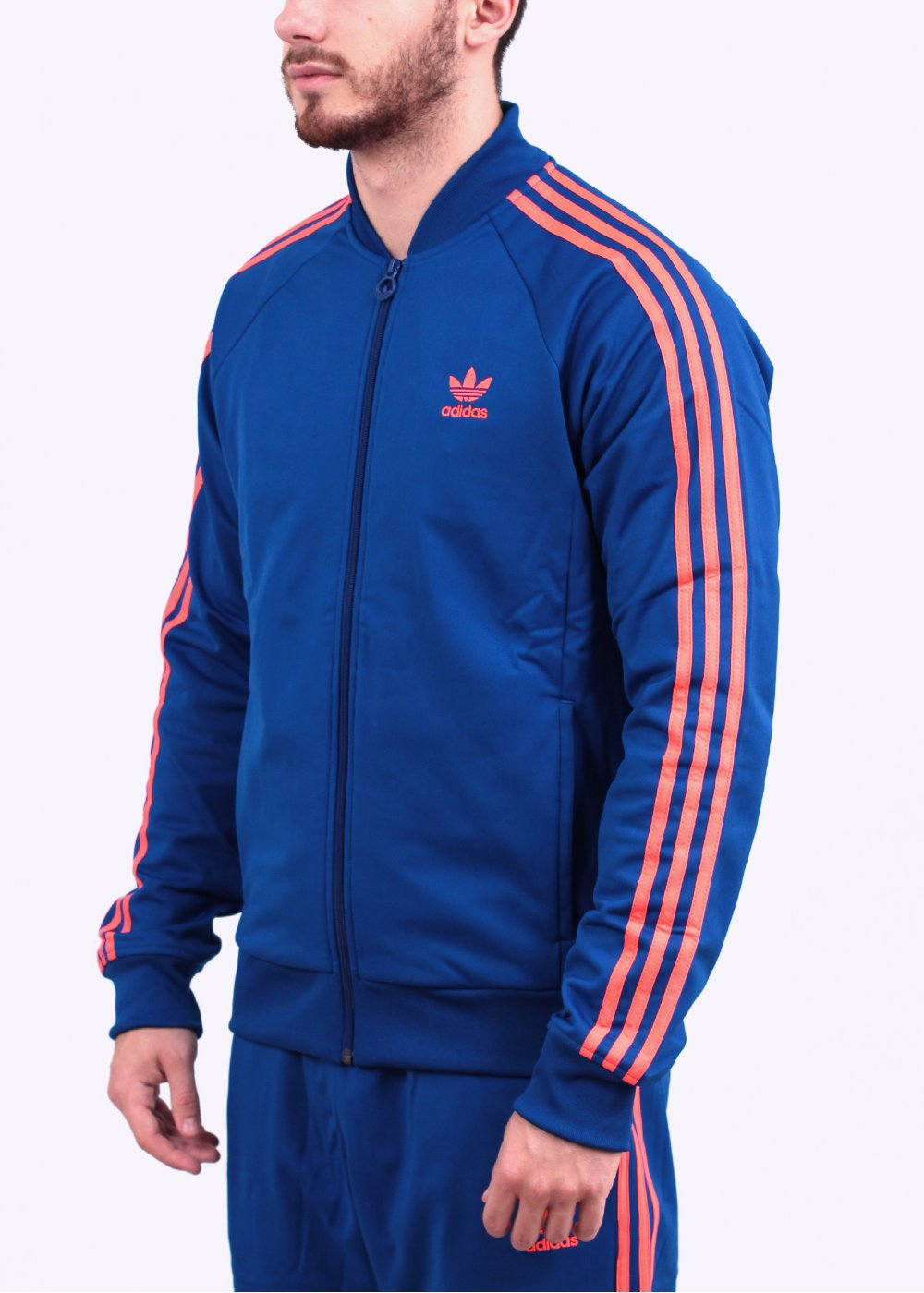 adidas originals superstar track top collegiate royal blue. Black Bedroom Furniture Sets. Home Design Ideas