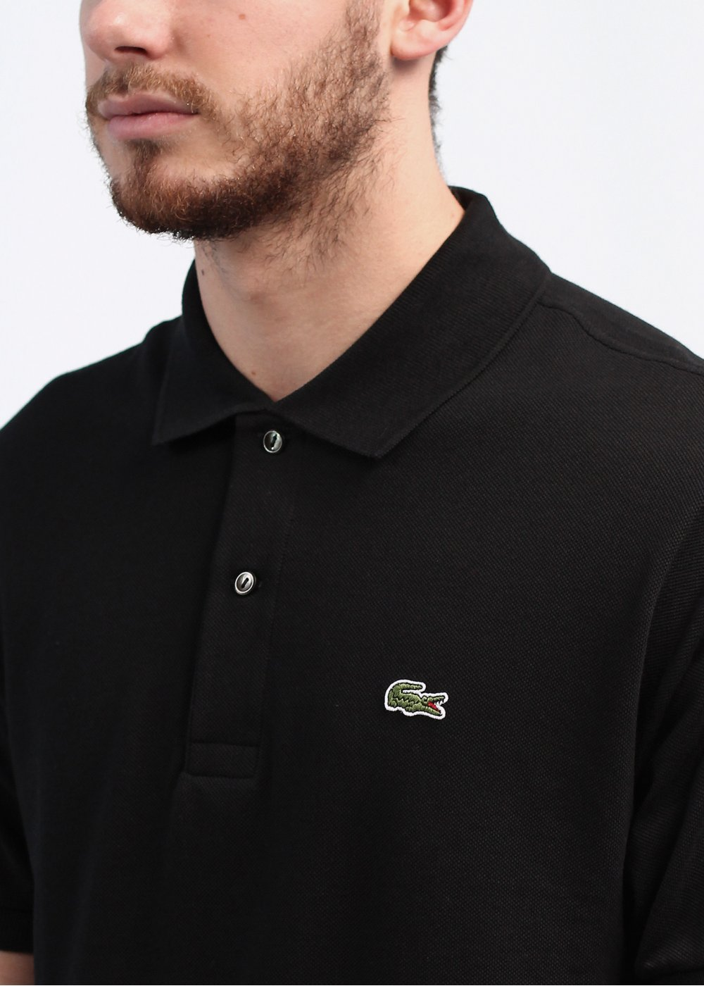 Mens Polo Shirts Lacoste Long Sleeve Logo