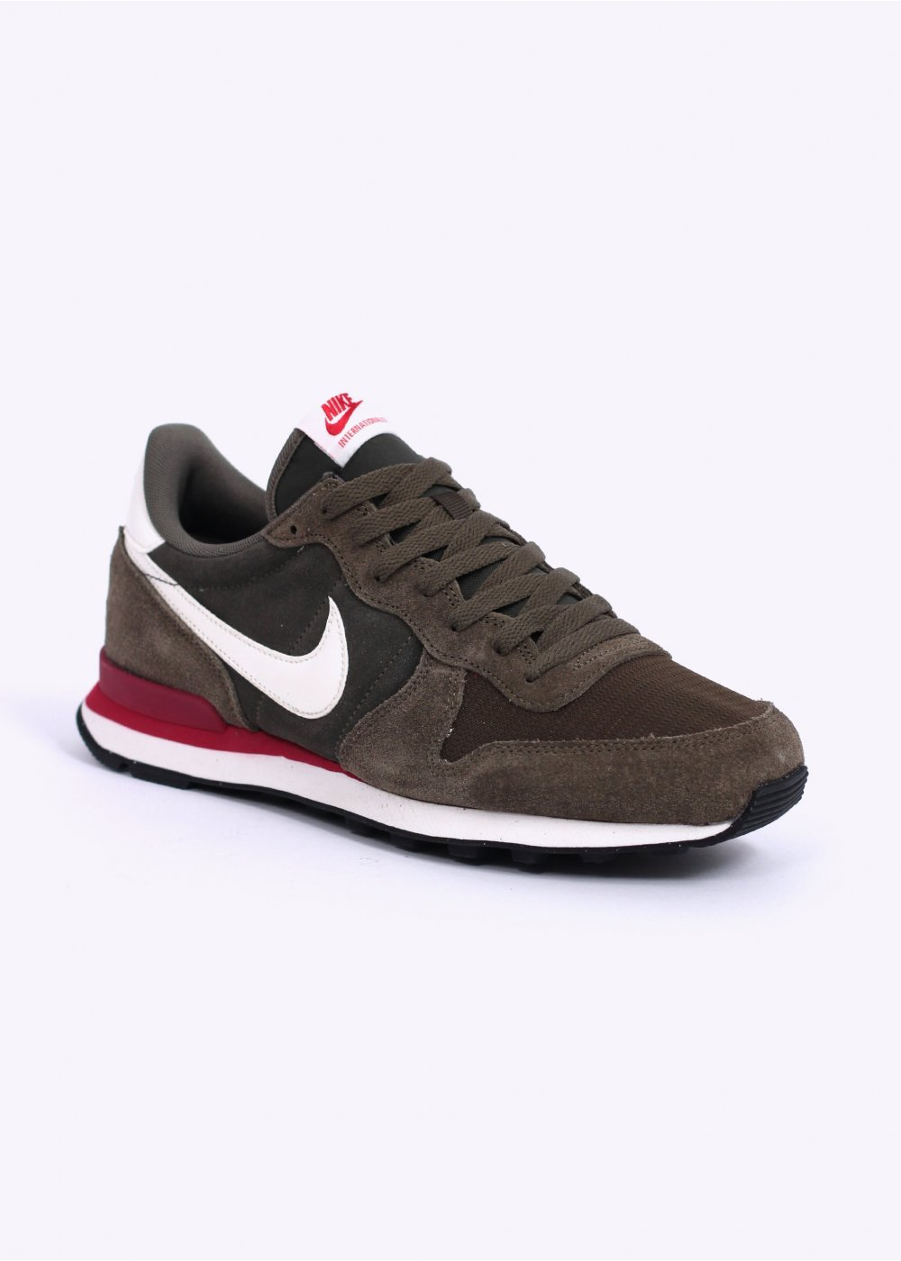 nike internationalist leather khaki sail olive. Black Bedroom Furniture Sets. Home Design Ideas
