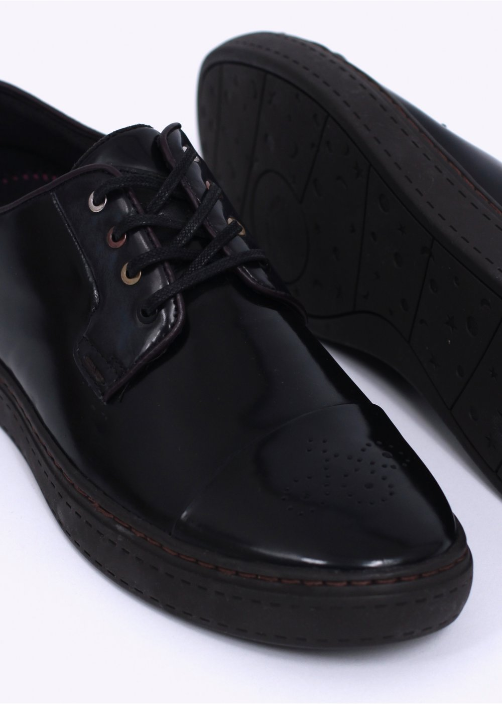 paul smith minster shoes black