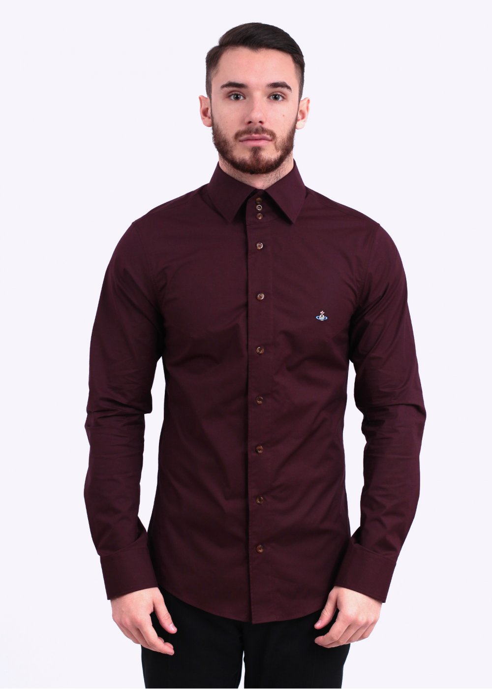 Maroon Mens Shirt | Is Shirt