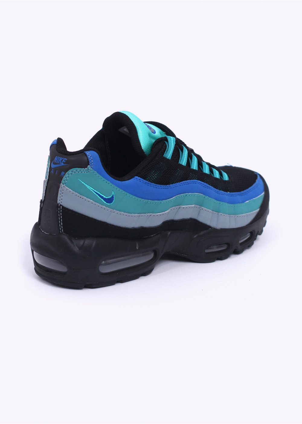 nike air max 95 trainers black mint. Black Bedroom Furniture Sets. Home Design Ideas