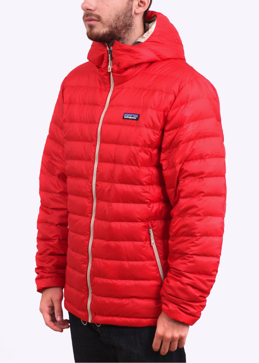Patagonia Down Sweater Hoody Cochineal Red