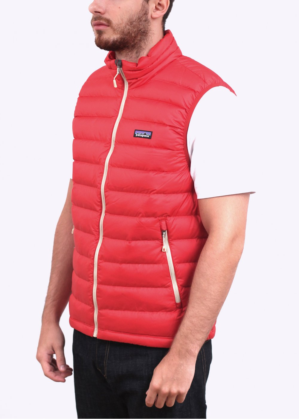 Patagonia Down Sweater Vest Cochineal Red