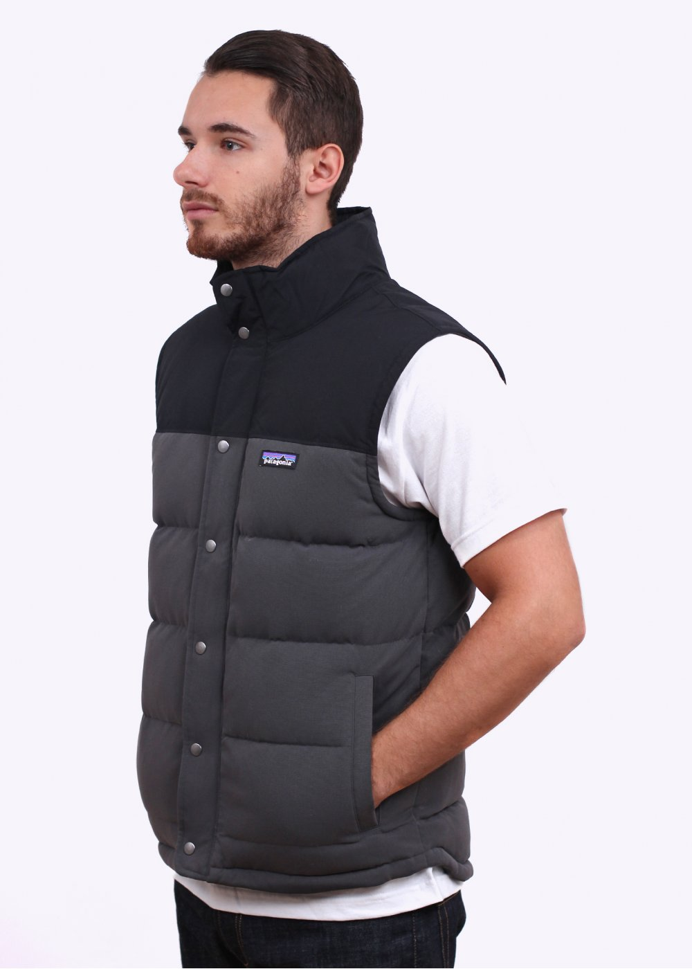 Patagonia M S Bivy Down Vest Forge Grey