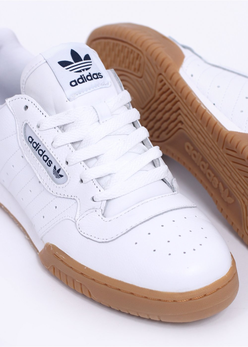 white adidas originals trainers