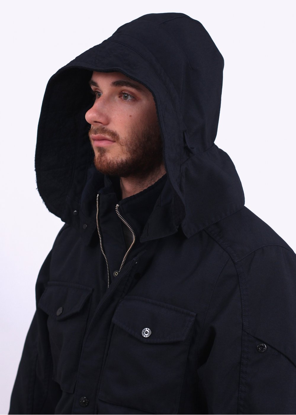 Stone Island Shadow Project Hollow Core Jacket - Navy