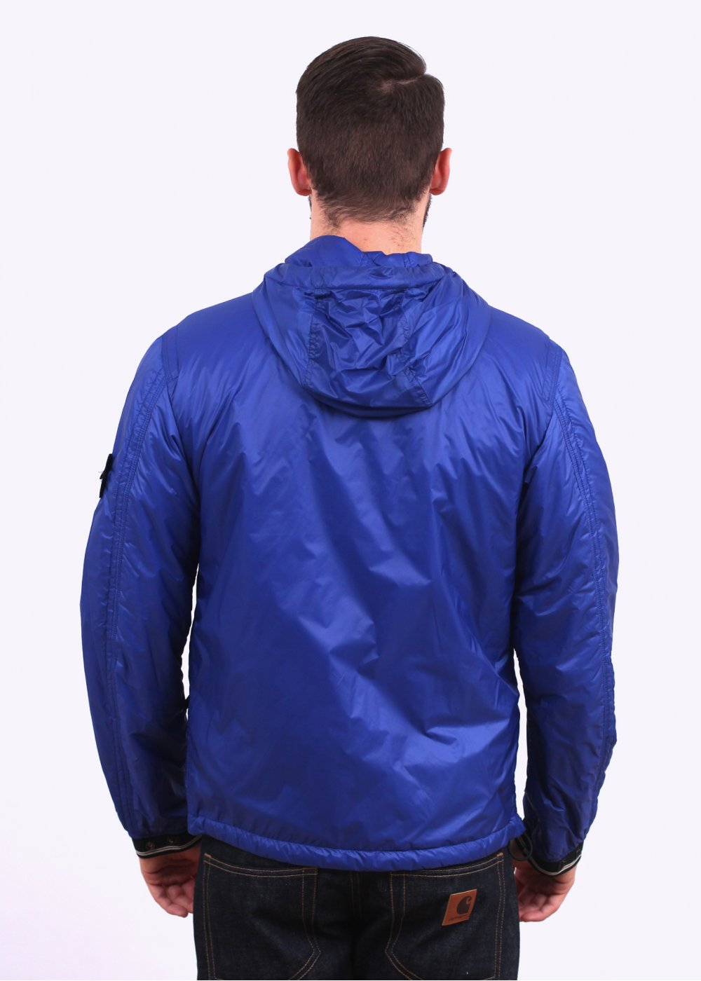 stone island micro rip stop jacket royal blue. Black Bedroom Furniture Sets. Home Design Ideas