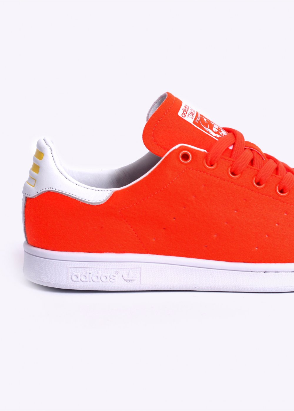Adidas Originals X Pharrell Stan Smith Tns Orange