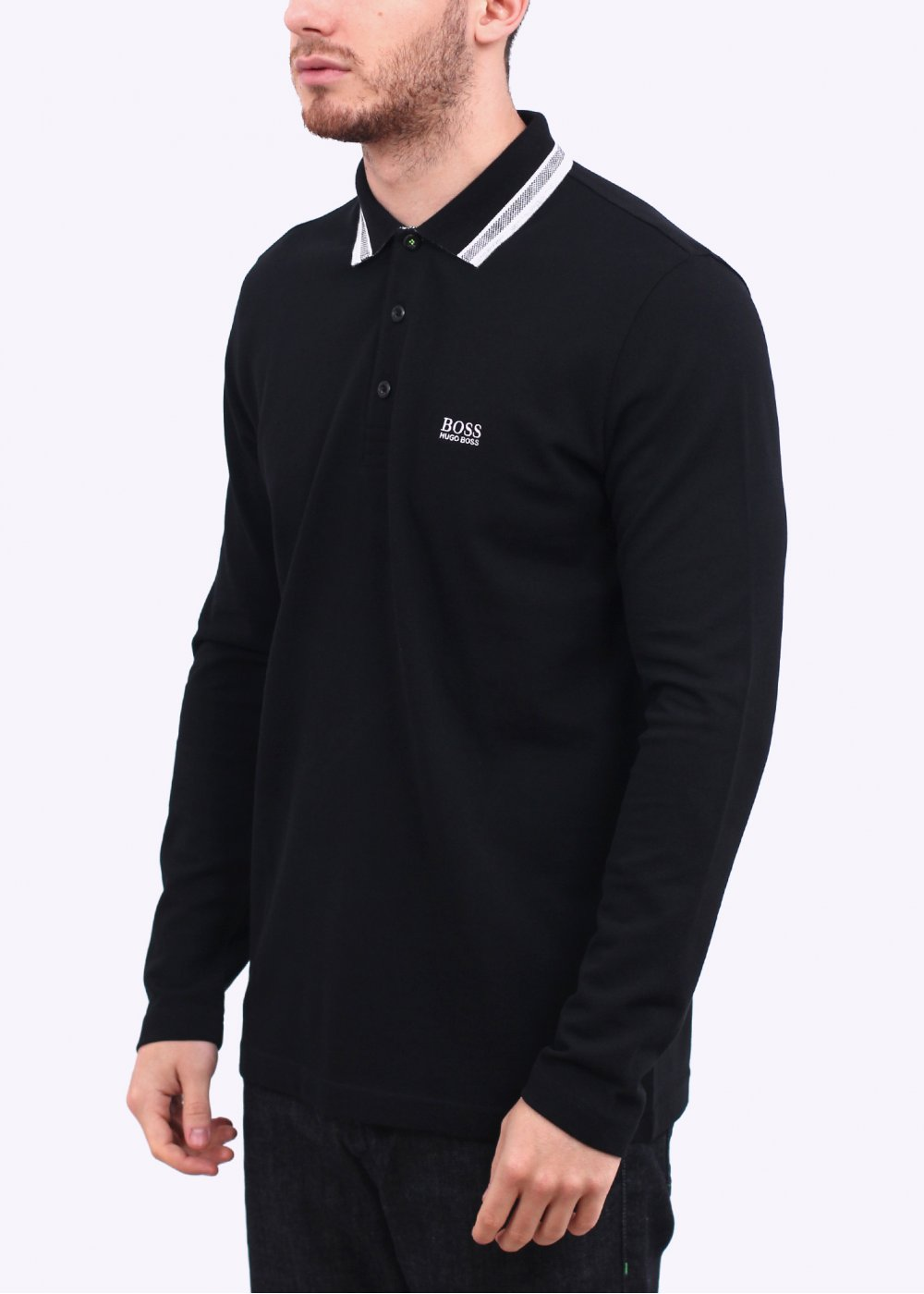 Hugo boss green plisy polo shirt black hugo boss green for Hugo boss green polo shirt sale