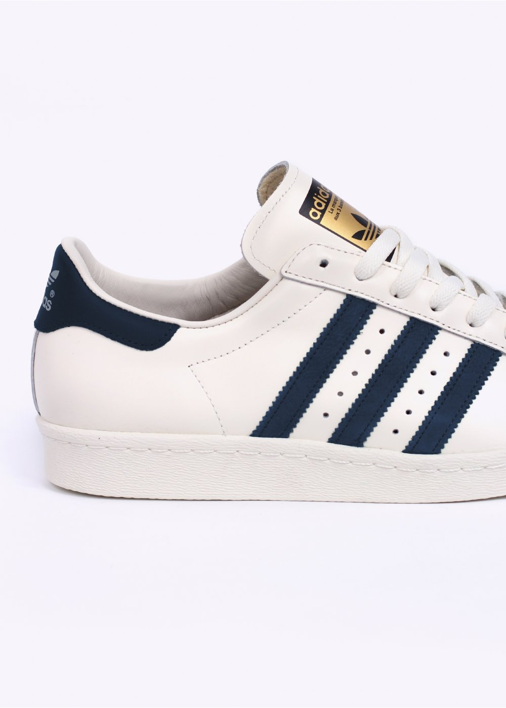 Adidas Originals White And Navy