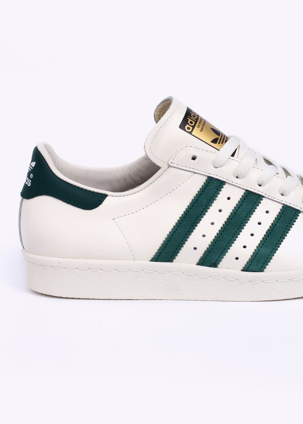 Adidas Superstar Green White