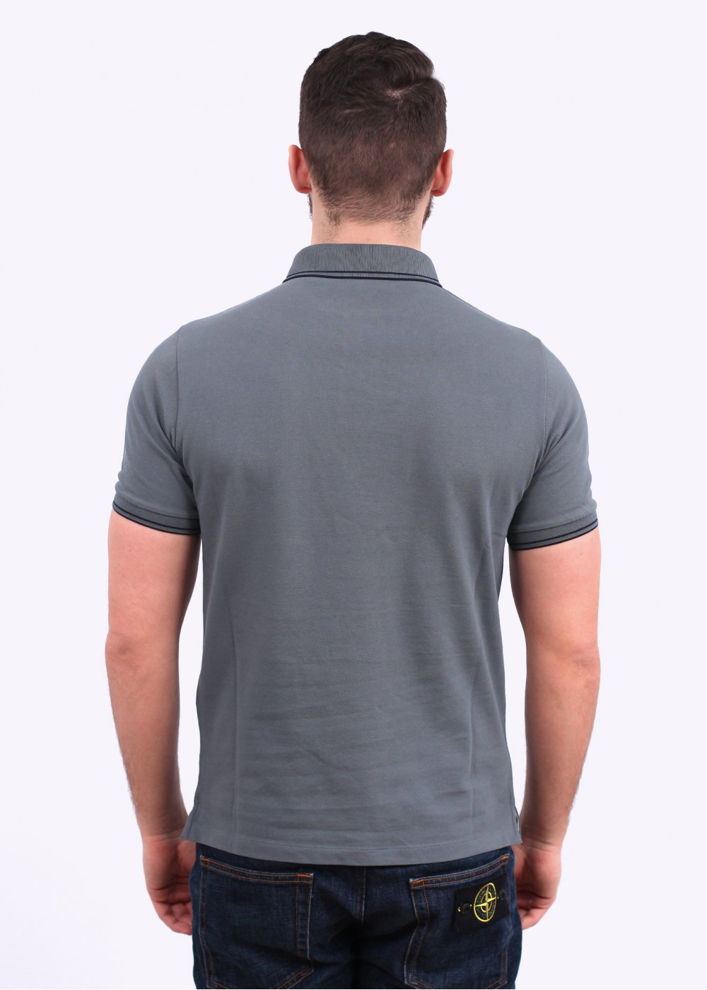 Stone Island Polo Shirt Dark Grey