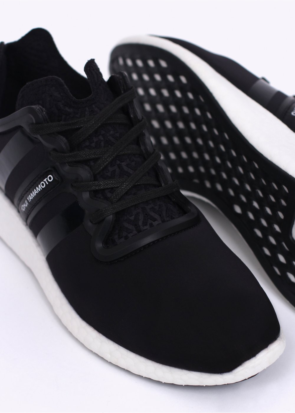 adidas x yohji yamamoto y 3 yohji boost trainers black. Black Bedroom Furniture Sets. Home Design Ideas