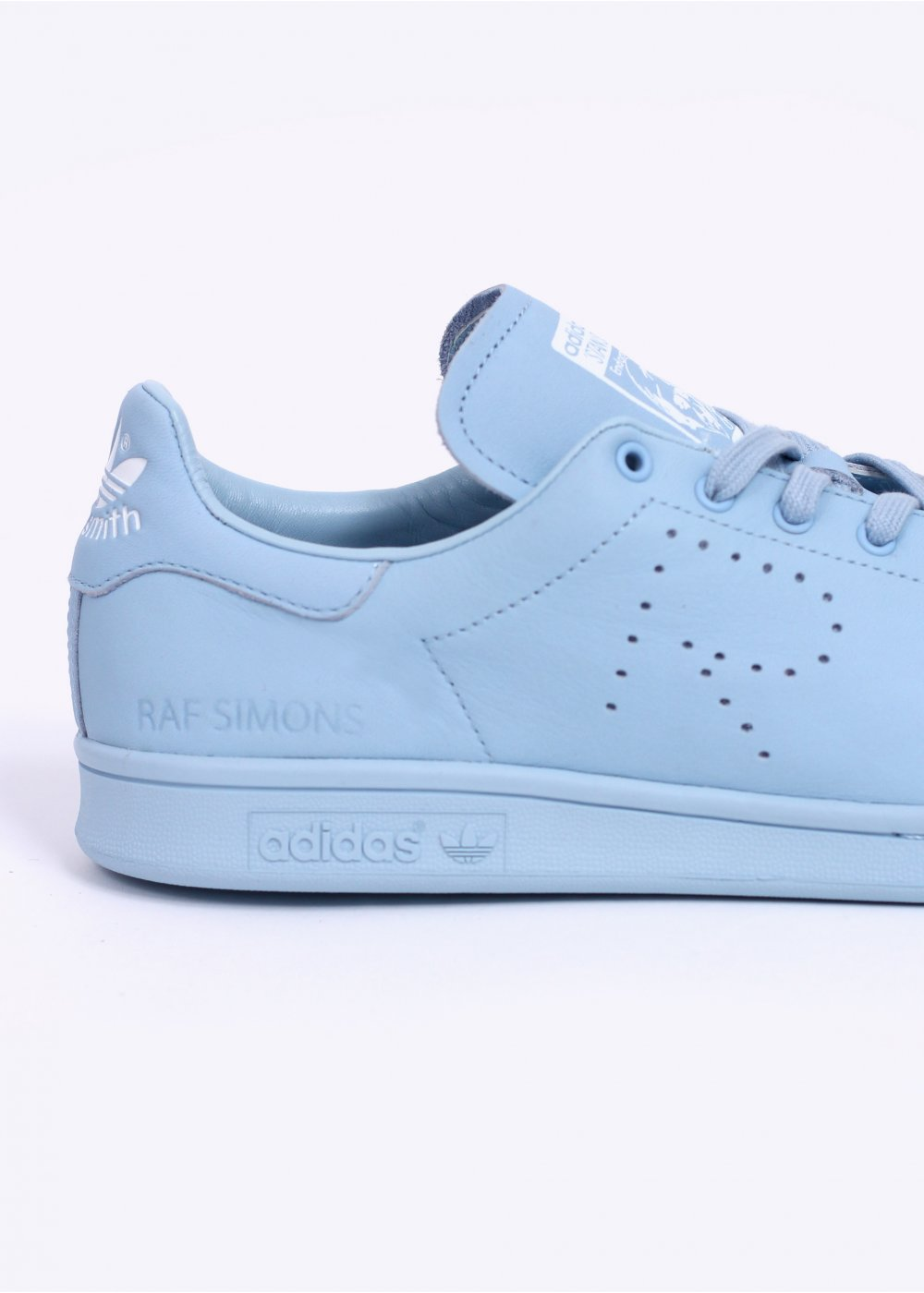 wnutk adidas Originals STAN SMITH TRAINERS - SKY / WHITE