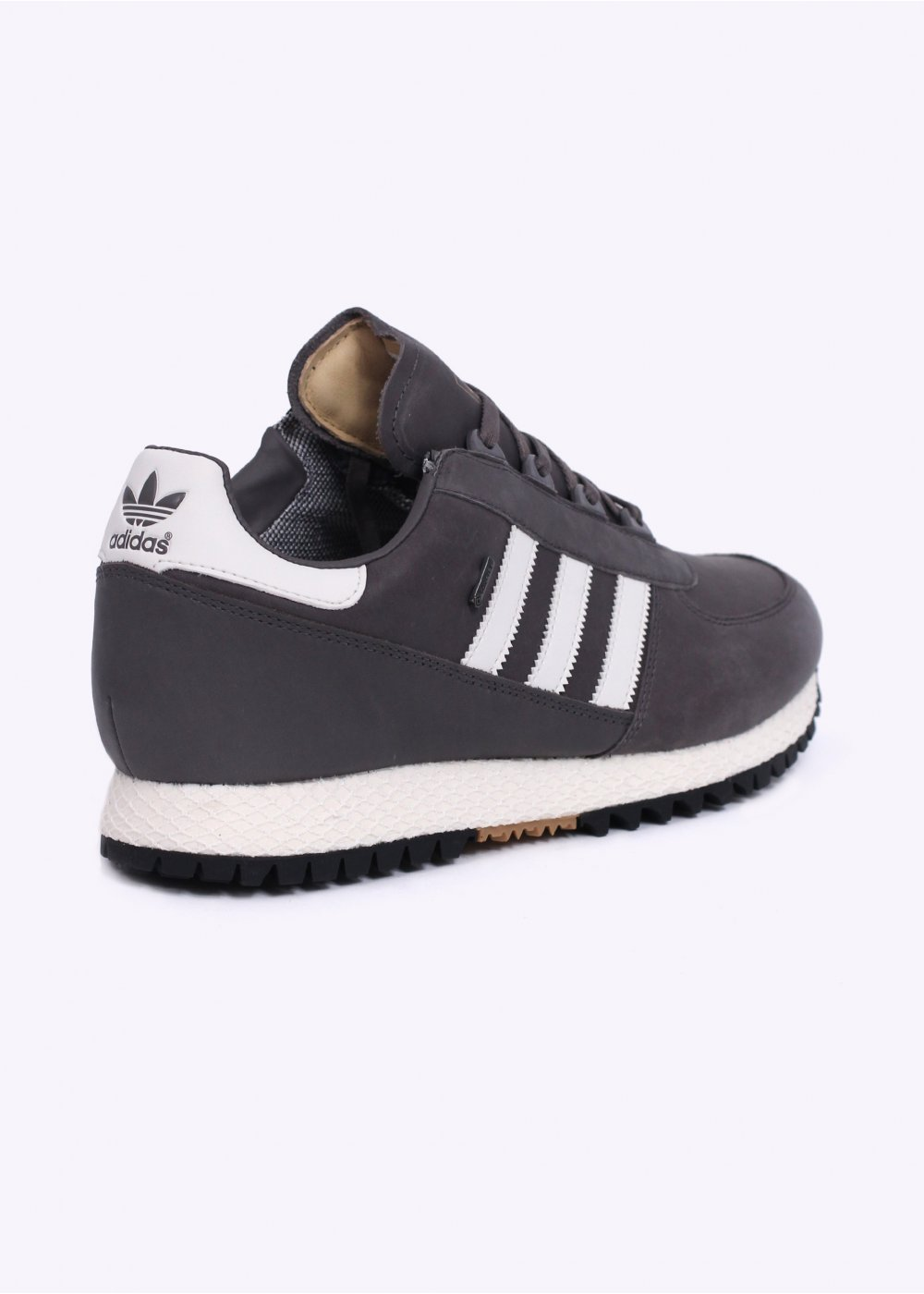 adidas originals waterproof trainers granite white