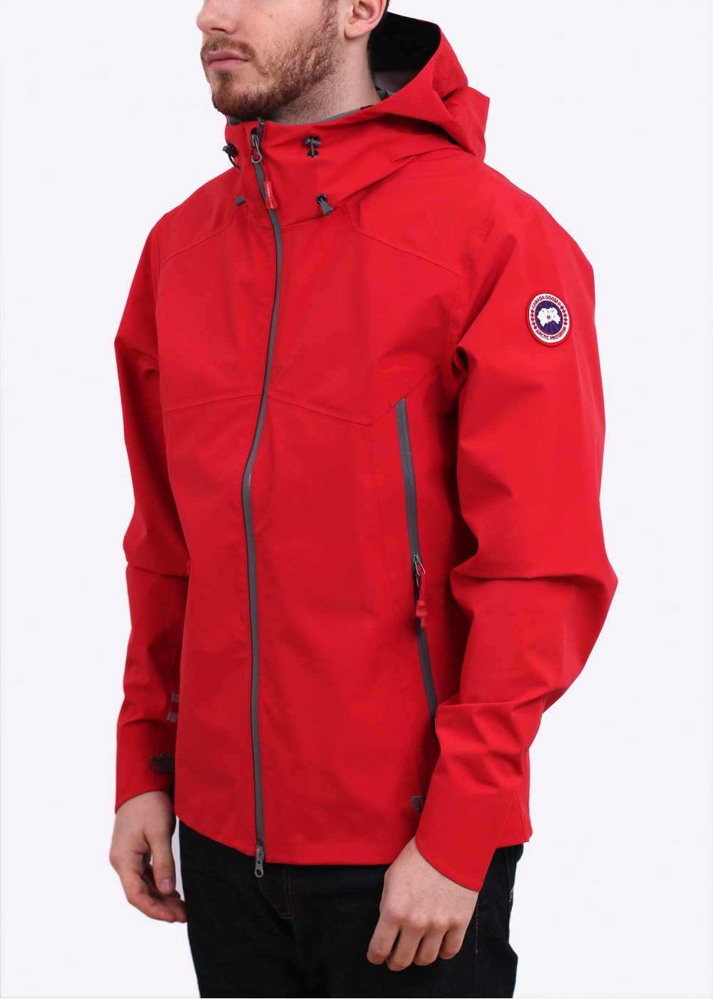 Canads Goose Canyon Shell Jacket Red