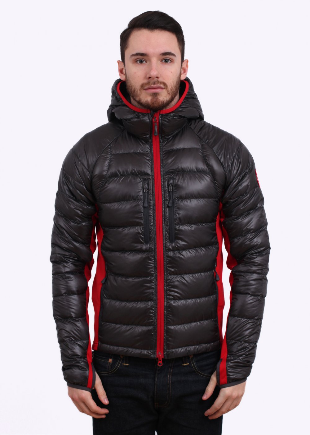 canada goose hybridge lite hooded jacket