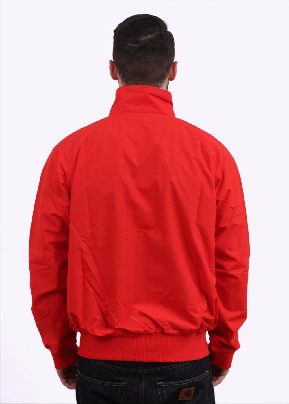 Patagonia Baggies Jacket Grey Red