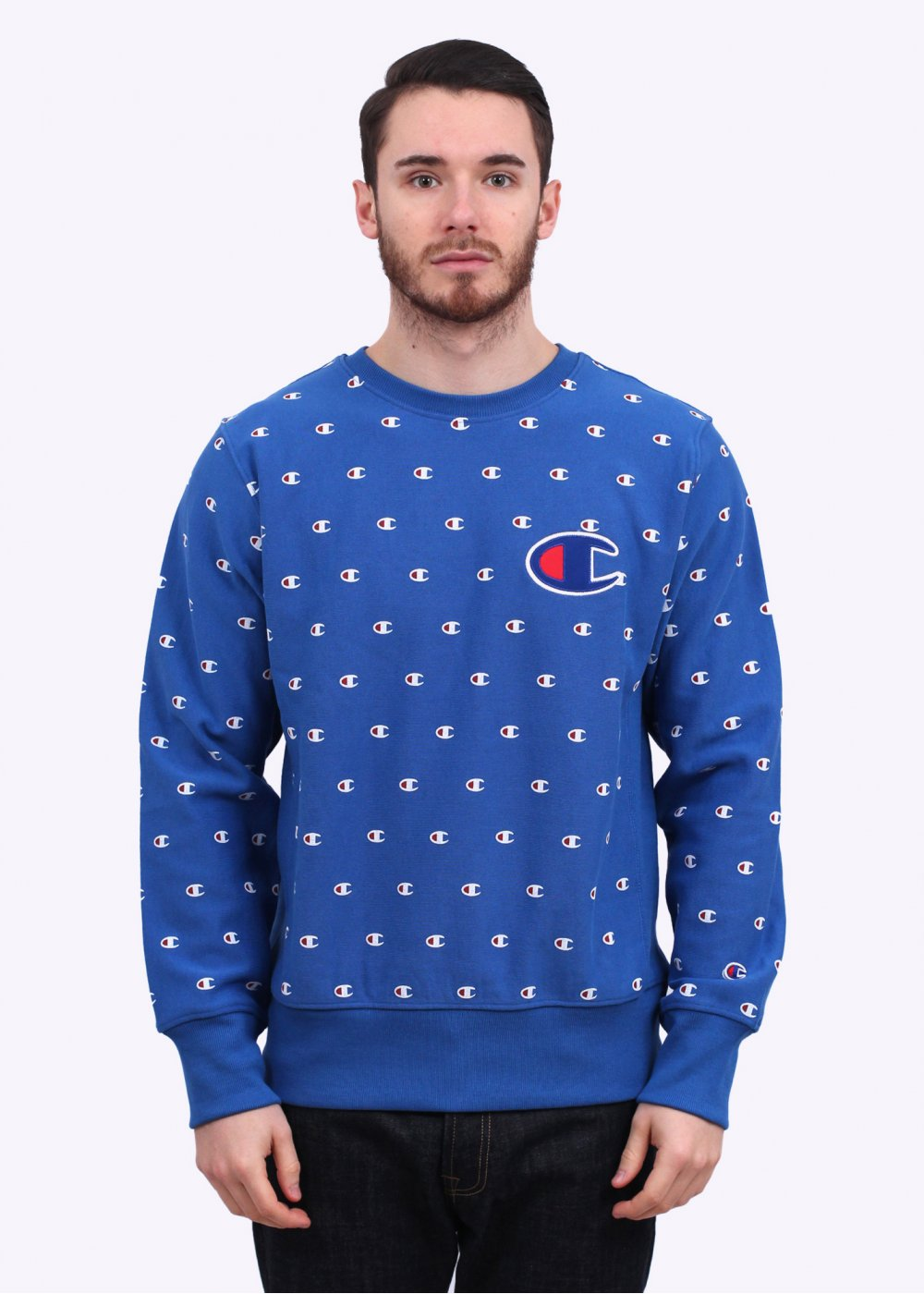 Champion Logo Sweatshirt | Fashion Ql