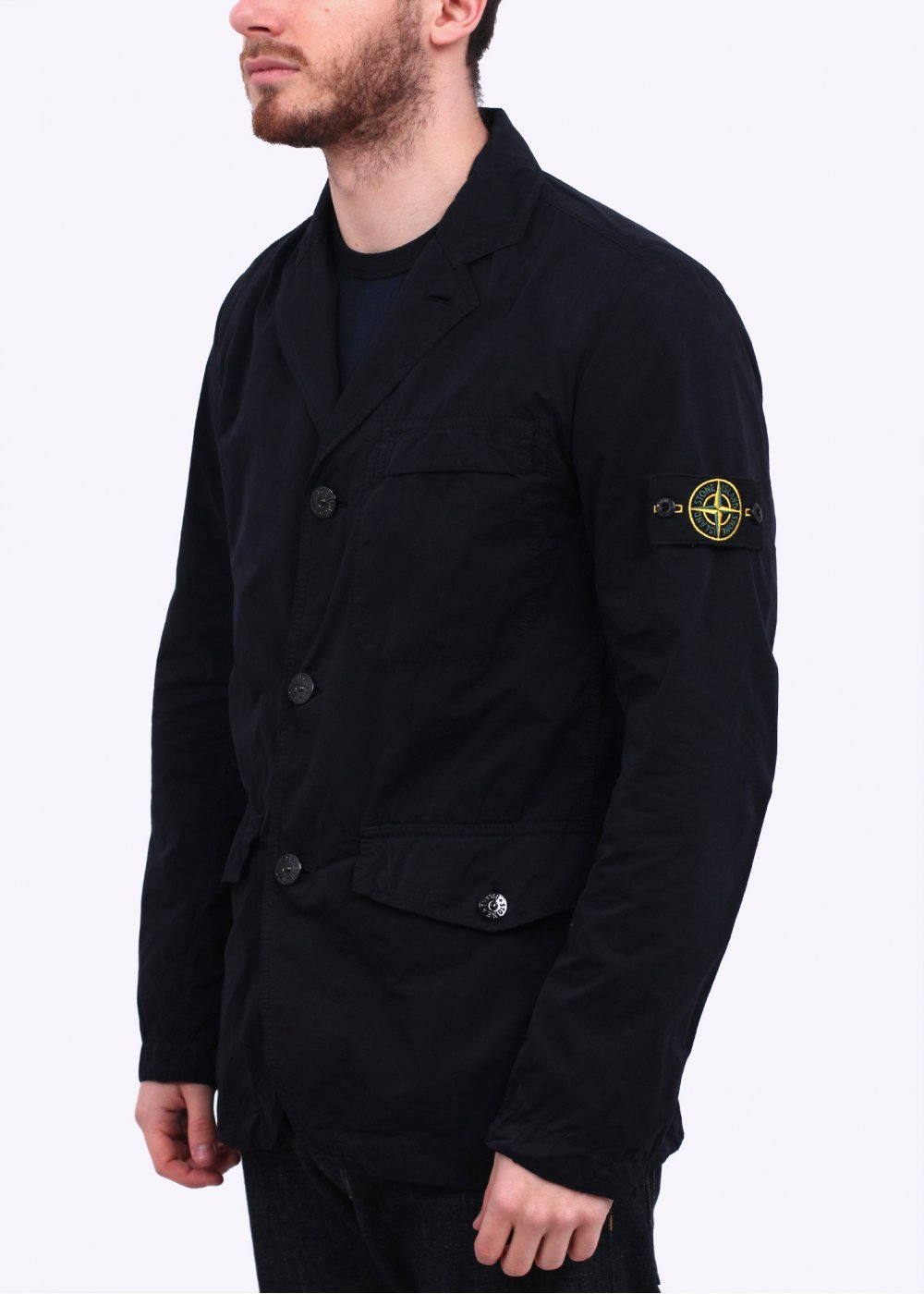 Stone Island David Light Jacket Navy