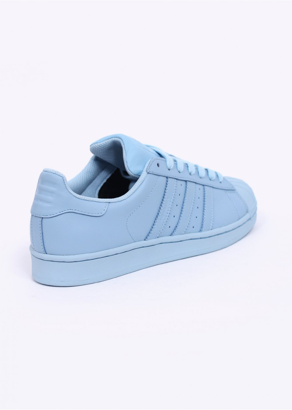 adidas superstar clear blue