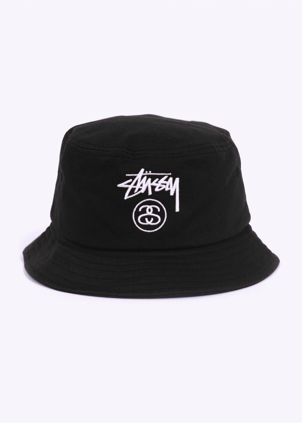 Stussy Stock Lock Bucket Hat - Black