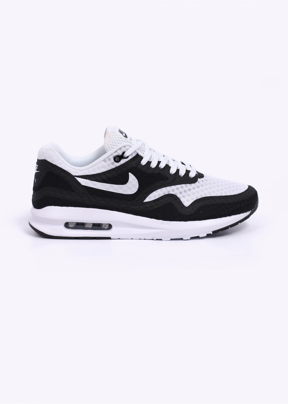 nike air max lunar 1 br trainers white black. Black Bedroom Furniture Sets. Home Design Ideas