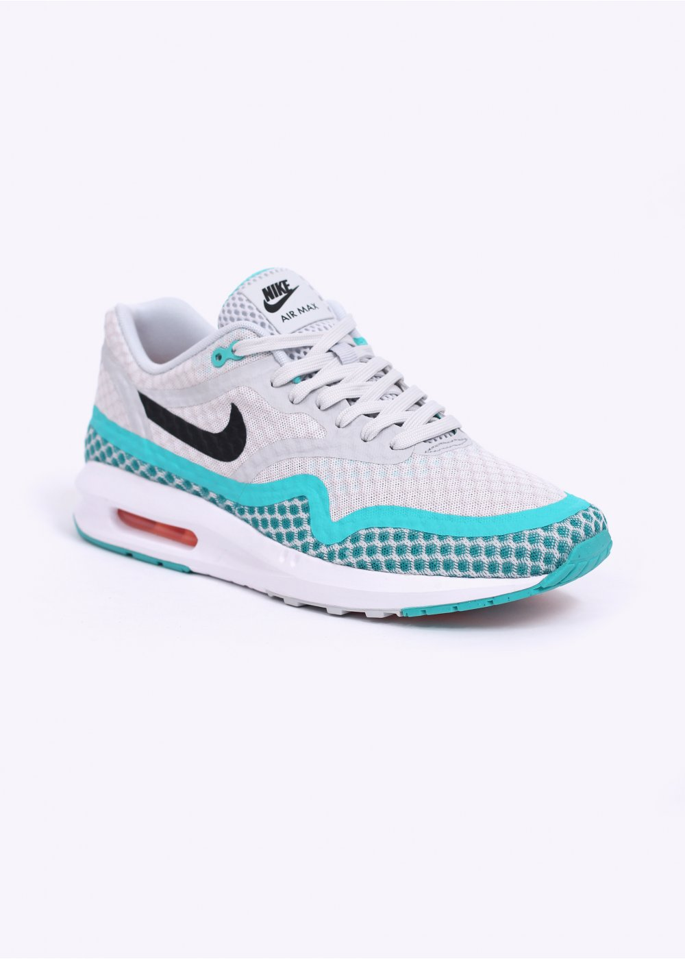 nike air max lunar 1 br trainers pure platinum blue. Black Bedroom Furniture Sets. Home Design Ideas