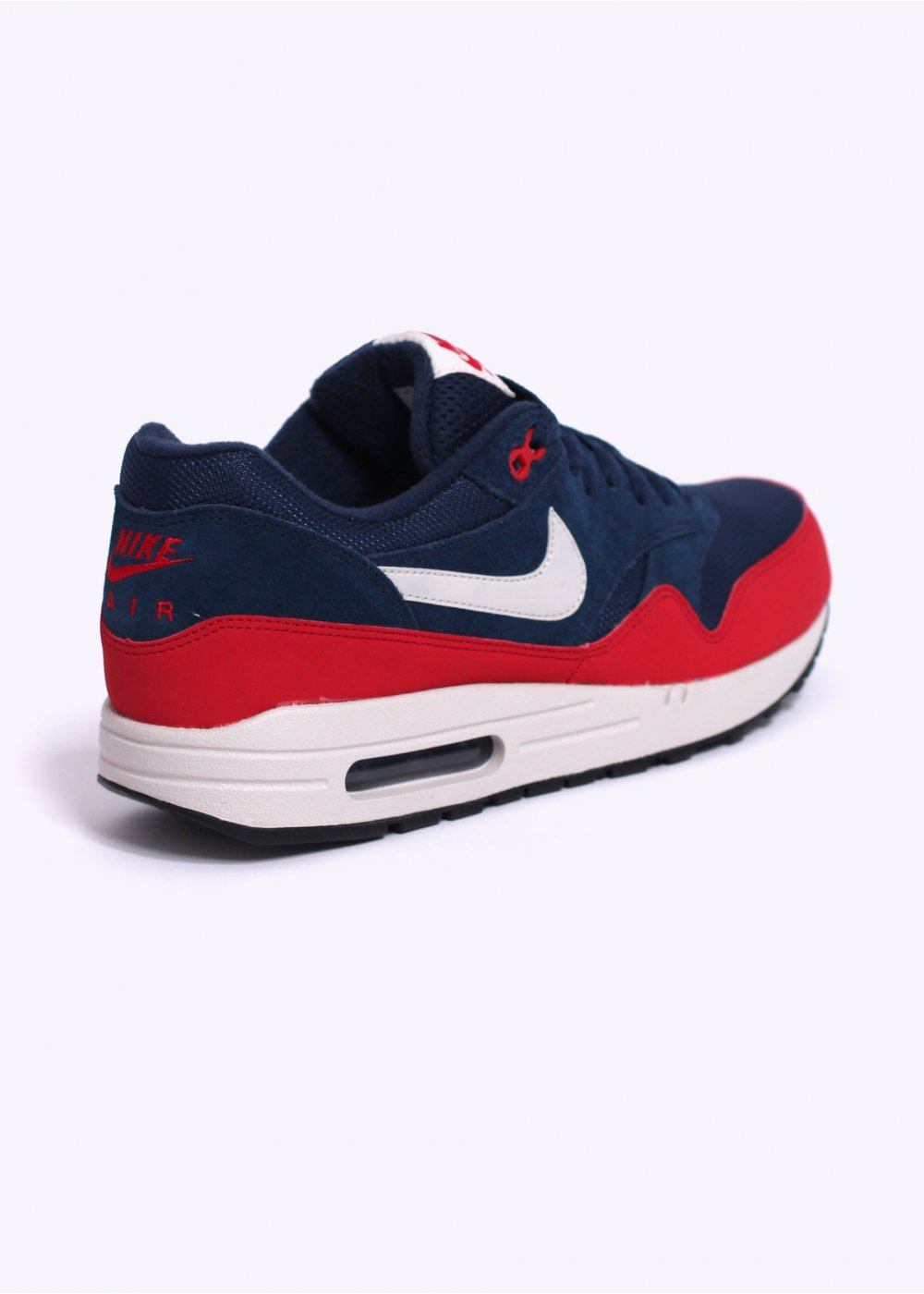 Nike Air Max 1 Essential Midnight Navy amp University Blue On Feet Sneaker Review