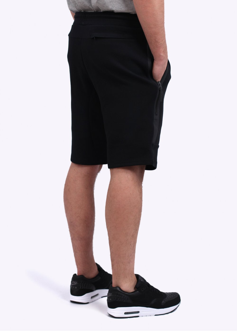 nike tech fleece shorts black. Black Bedroom Furniture Sets. Home Design Ideas
