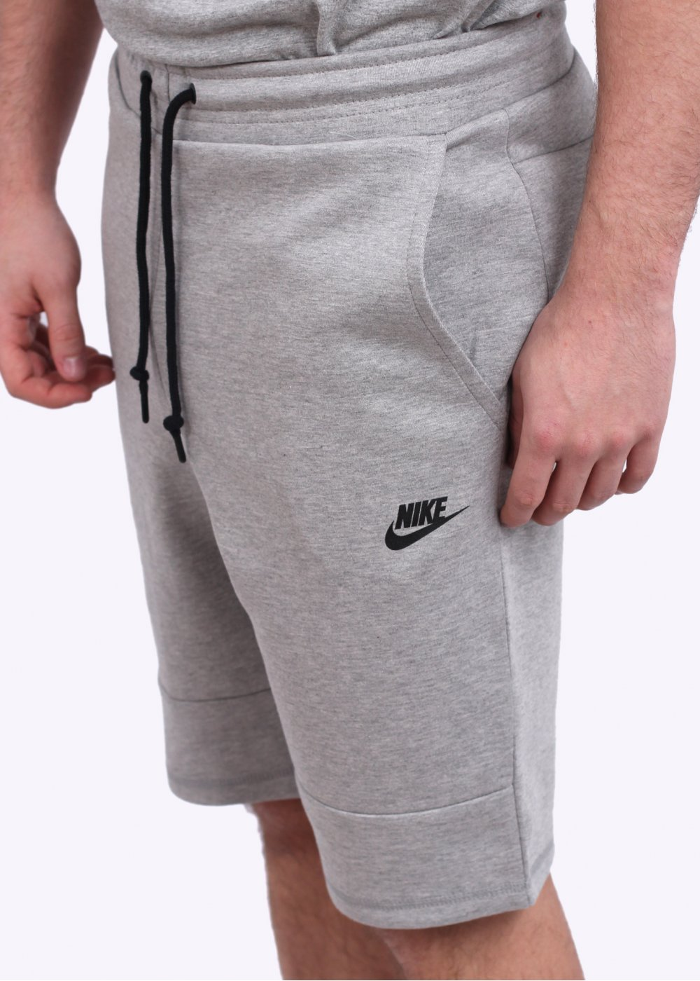 nike tech fleece shorts light grey. Black Bedroom Furniture Sets. Home Design Ideas
