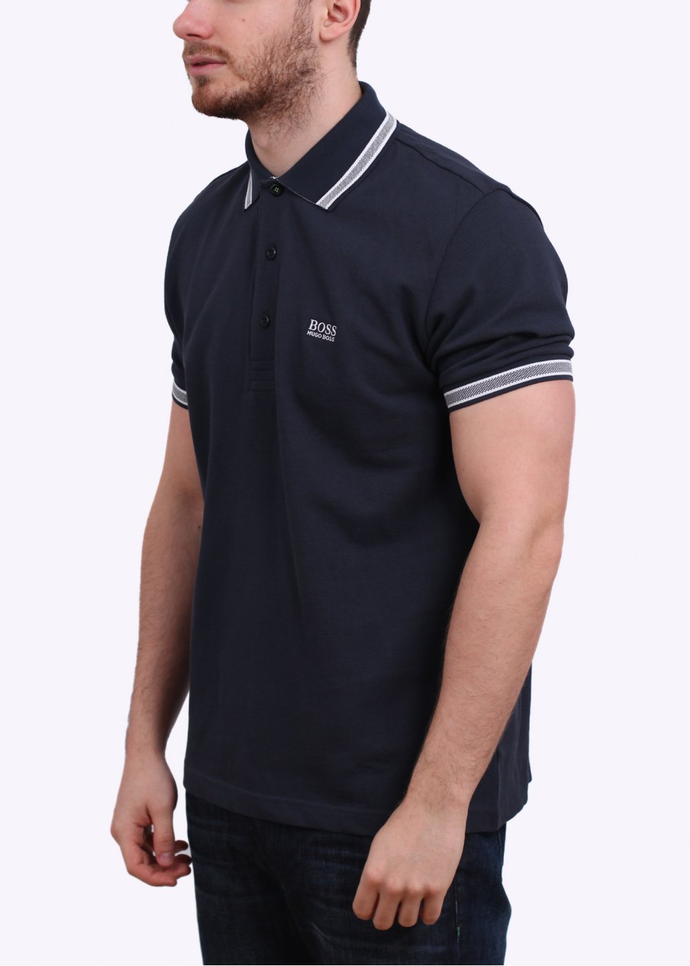 hugo boss paddy polo shirt navy. Black Bedroom Furniture Sets. Home Design Ideas